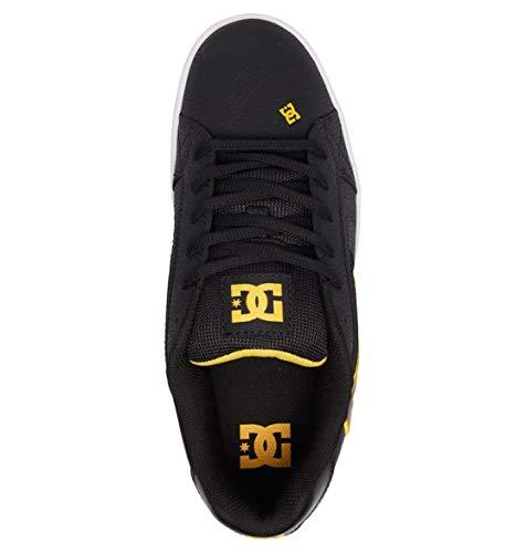 uomo Nero Nero Scarpe Sneakers Net da ginnastica da oro 1nwxqpaCZ
