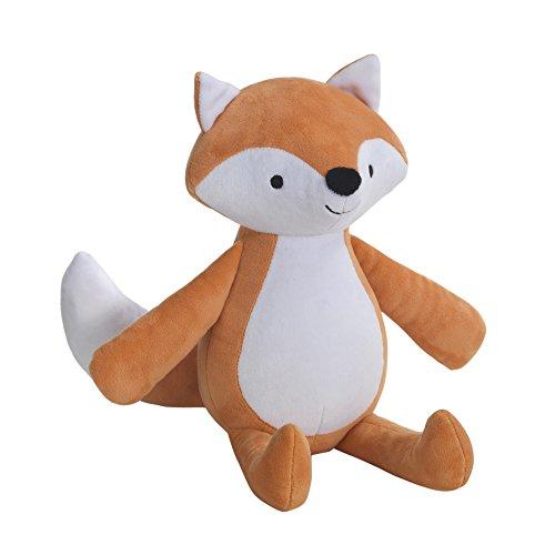 Bedtime Originals Baby League Fox Plush Scout, Orange -