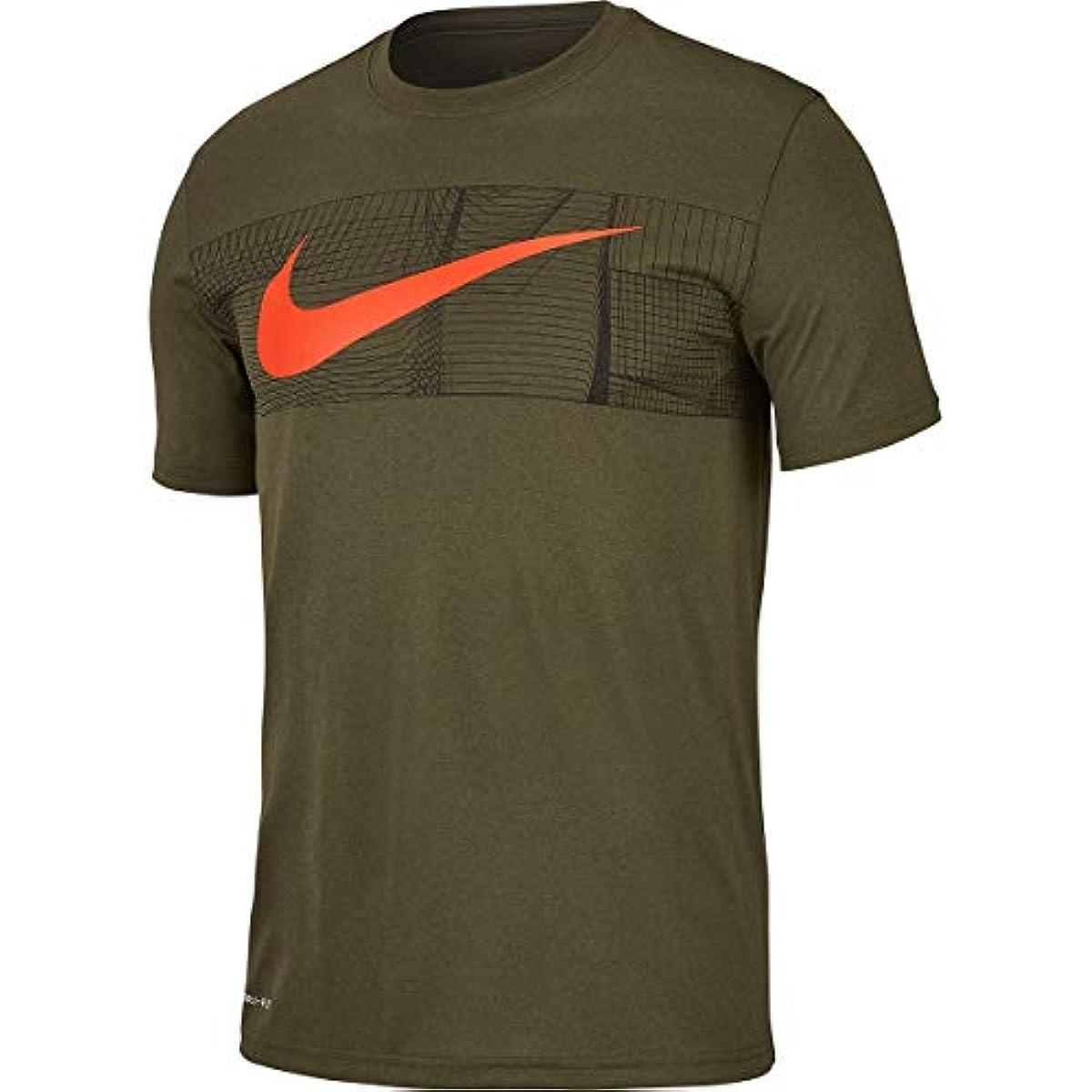[해외] □◎나이키(NIKE) DRI-FIT 레거시 스우시 + BLOC T셔츠 BV7939-325 맨즈