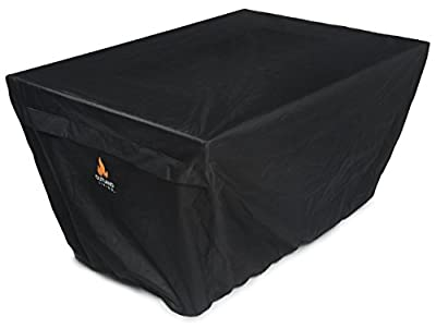 Outland Fire Table UV & Water Resistant Durable Cover for Outland Series 401 Fire Tables, Rectangular 45-Inch x 33-Inch