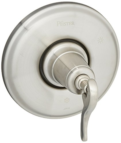 Pfister R89-1YPK R89-1YPK Ashfield 1-Handle Tub and Shower Valve Trim, Brushed Nickel