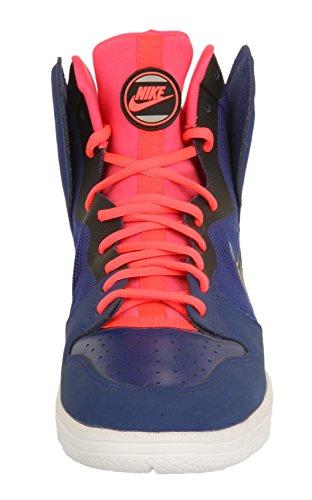 Nike Herren Sneakers DUNK FREE Blau/Neon Orange 599466-401