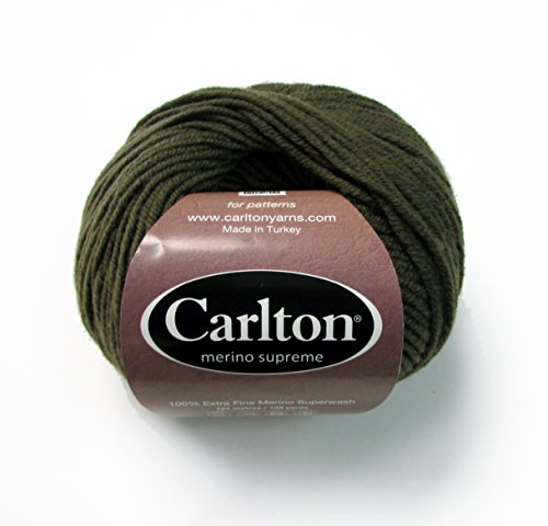 Supreme by Carlton Yarns (1 Skein, Italian Coffee #25) ()
