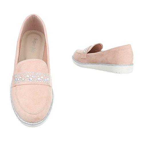 Ital-Design - Tobillo bajo Mujer , color rosa, talla 38