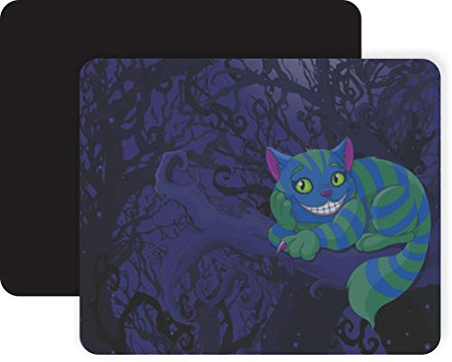 Cheshire Cat in Tree Non-Slip Mouse Pad Gaming Mouse Pad Mousepad Mousemat