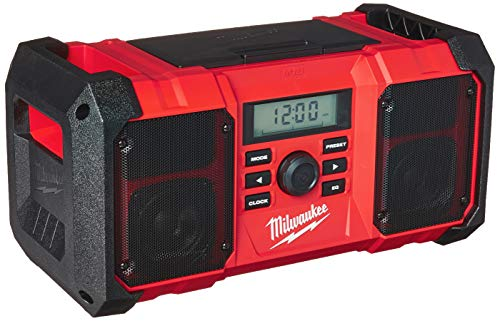 Milwaukee 2890-20 18V Dual Chemistry M18 Jobsite Radio with Shock