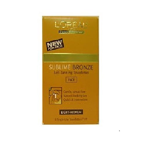 Loreal Paris Sublime tanning Towelettes