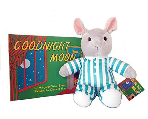 Margaret Wise Brown Goodnight Moon Plush Bunny and Hardcover Book Gift Set