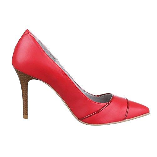 Pompe Le Donne Rosso Di Rosso design Ital Colore Delle RR4qxdcrw