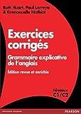 Grammaire explicative de l'anglais : exercices