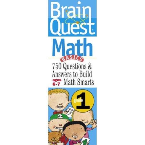 Brain Quest Math Basics Grade 1 750 Questions