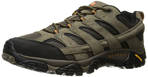 Merrell Men's Moab 2 Vent Hiking Shoe, Walnut, 12 M US (Best Shoes For Mountain Hiking)