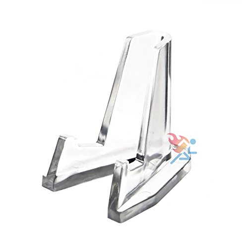 10 Clear Display Easels- Small
