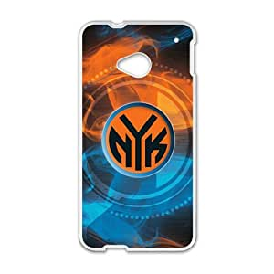 Happy new york knicks logo Phone Case for HTC One M7