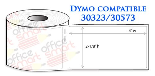 36 Rolls Dymo 30323 Compatible Shipping Labels 2 1/8'' x 4'' for DYMO LabelWriters 330 400 450 Twin Turbo Duo 4XL Printer by OfficeSmartLabels