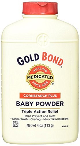 Gold Bond Cornstarch Plus Baby Powder 4 oz (Pack of 11)