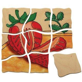 Puzzle Erdbeere Beleduc 17040 Erdbeere Lagen