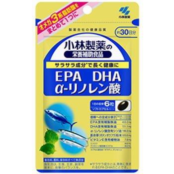 小林製薬 EPA DHA α-リノレン酸 180粒×3個セット B07461MX9T