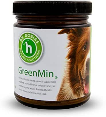 DR. DOBIAS GreenMin Dogs - All Natural Mineral Supplement, Made in The USA
