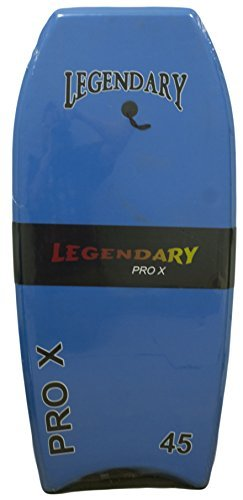Legendary Pro X Slick Bottom Hard Bottom Body Surfing Board (Lt. Blue/ Pink, 45 Inch)
