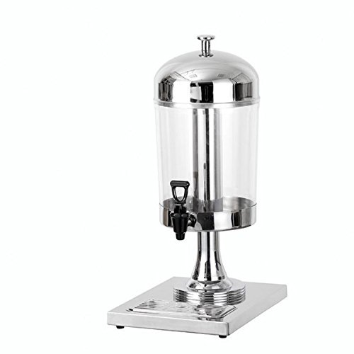 Atosa AT90512, 7.5-Quart Stainless Steel Juice Dispenser Accent for Catering