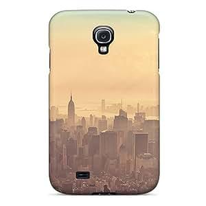 (FDpgujY3204cBvIT)durable Protection Case Cover For Galaxy S4(new York City Sunrise Haze)
