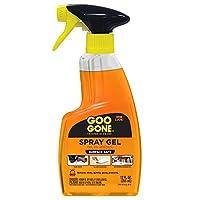 Goo Gone Original Spray Gel: elimina la goma de mascar, la grasa, el alquitrán, los adhesivos, las etiquetas, los residuos de cinta, el aceite, la sangre, el lápiz labial, el rímel, el esmalte para zapatos, el crayón, etc. - 12 fl. onz.