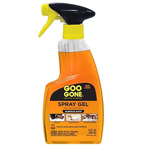 Goo Gone Original Spray Gel, Single 12oz Bottle, 12 Fl Oz