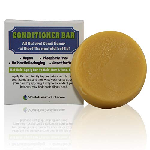 Natural Organic Solid Conditioner bar - Conditioner bar soap/Hair Care Bar for Women Men Kids/Effect Hair Soap/Eco Friendly/Zero Waste Biodegradable Packaging