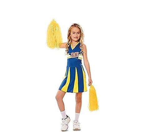 EUROCARNAVALES - Costume di Carnevale da Cheerleader per Bambini ... 41767e8c058