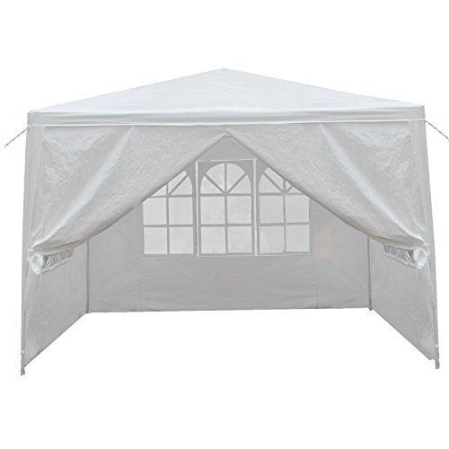Zeny 10'x10' Outdoor Canopy Party Wedding Camping Tent Garden Gazebo Pavilion Cater Events w/Sidewalls