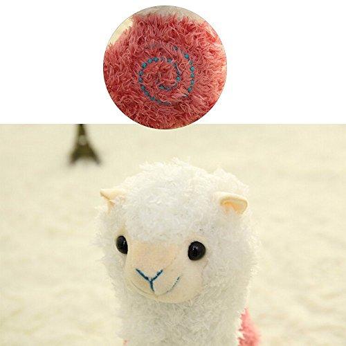 ESH7 Kawaii Rainbow Alpaca Plush Doll Toys Cute Llama Alpacasso Stuffed Japanese Animals