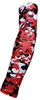 (Youth & Adult Sizes) Sports Farm - Moisture Wicking Compression Arm Sleeve (1 Sleeve) (Over 100 Colors Available In Our Store)