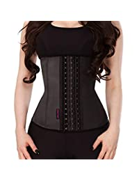 DILANNI Best Women's Latex Waist Cincher Corset Waist Trainer Weight Loss Shapewear