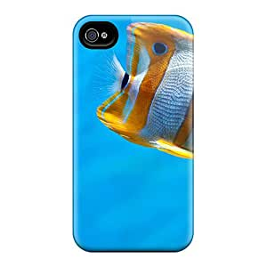 TerryMacPhail Shockproof Scratcheproof Stiped Fish Hard Cases Covers For Iphone 6