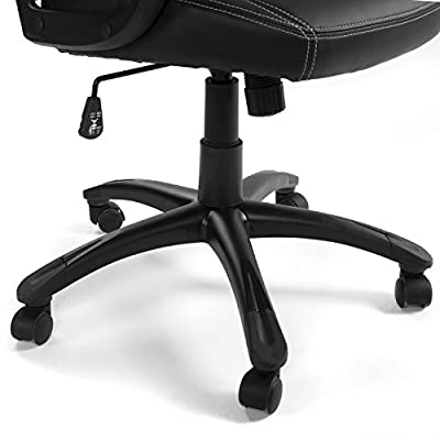 GreenForest High Back Mesh Office Chair Ergonomic with Adjustable Armrest Swivel Computer Task Chair by GreenForest