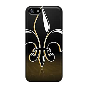 Hard Plastic Iphone 5/5s Case Back Cover,hot New Orleans Saints Case At Perfect Diy