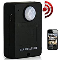 Wireless Mini PIR MP. Alert Infrared Sensor Motion Detector GSM Alarm Monitor US