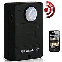 Wireless Mini PIR MP. Alert Infrared Sensor Motion Detector GSM Alarm Monitor US