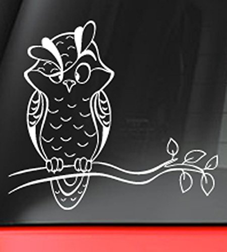 Owl Branch Decal Sticker Macbook product image