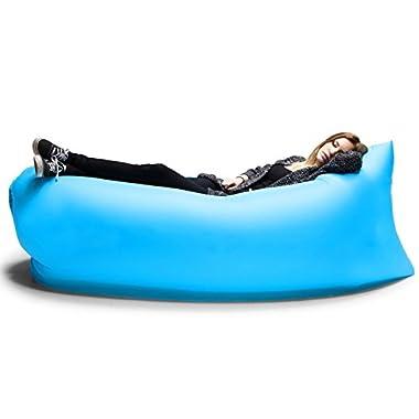 PortableFun Inflatable Lounger Air Sleeping Bag