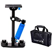 Carbon Fiber Camera Handheld Stabilizer Pro Version for Camera Video DV DSLR Nikon ,Canon, Sony, Panasonic up to 3.3lbs with Quick Release Plate