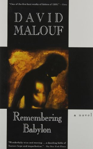 a literary analysis of remembering babylon by malouf Brendan's literature blog a theme expressed within malouf's remembering babylon throughout the novel, language is significant othello - scene analysis 3-3 the climax.
