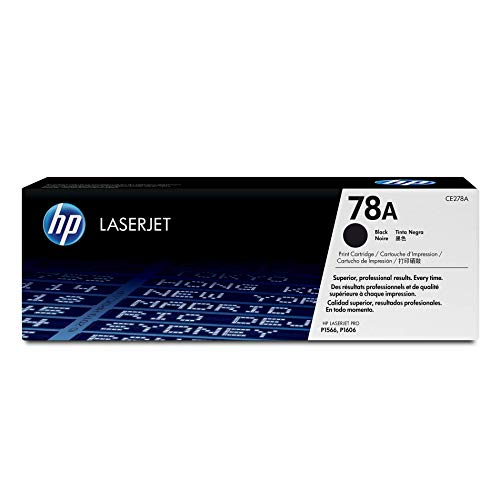 HP 78A (CE278A) Black Toner Cartridge for HP LaserJet Pro M1536 P1606
