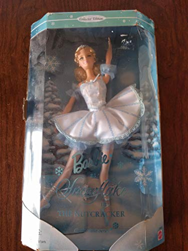 The Nutcracker BARBIE DOLL as SNOWFLAKE Classic BALLET Series COLLECTOR EDITION (1999)