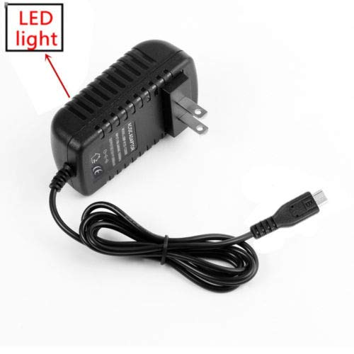 AC Wall Adapter Power Supply Charger Cord Cable for Polaroid L10 10' Tablet PC