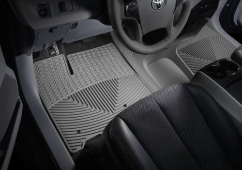 WeatherTech - W72GR-W70GR - 2007-2011 Chevy Suburban Grey All Weather Floor Mats Rows 1 2