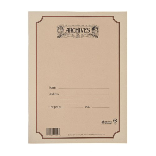 Archives Spiral Bound Manuscript Paper Book, 10 Stave, 48 Pages ()