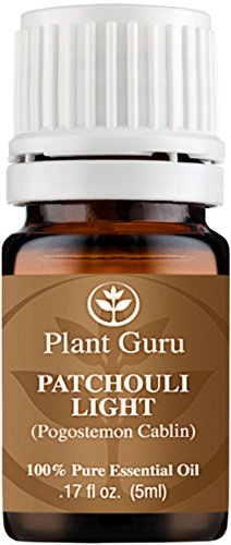 Patchouli Essential Oil (Light) 5 ml. 100% Pure, Undiluted, Therapeutic Grade. Sample Size