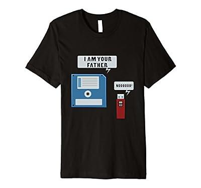 USB Floppy Disk Funny Geek T-Shirt Computer Nerd Shirt